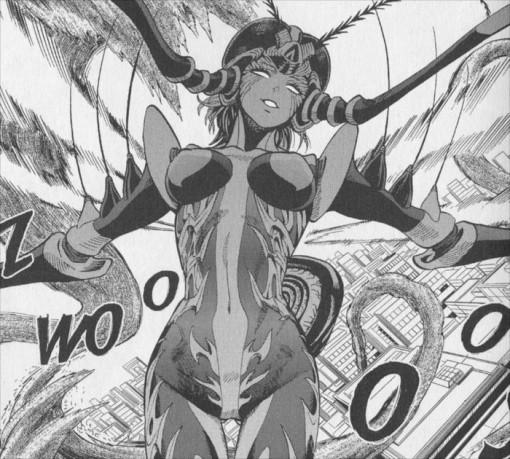 Un monstre en forme de moustique attaque la ville de One-Punch Man. Plus les moustiques lui rapportent du sang, plus elle devient puissante