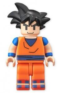son goku Lego Bandai