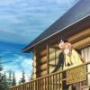 Kirito et Asuna sur leur terrasse profitent de la vie