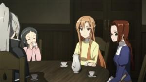 Repas de Yui avec ses parents à l'église où Sasha accueille les orphelins