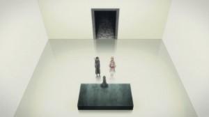 Yui explique sa condition à Kirito et Asuna après sa récupération de sa mémoire