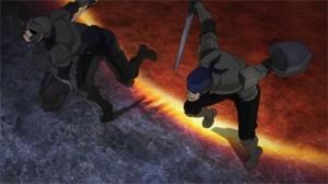 Une attaque du boss du niveau 75 qui tue en un coup ses ennemis