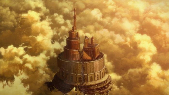 Fin d'Aincrad après la victoire de Kirito sur Heathcliff