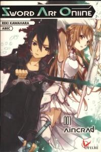 Couverture du roman Sword Art Online