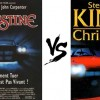 Christine livre vs film