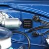 durites et câbles du moteur de la Dodge Charger 1/18 - Christine