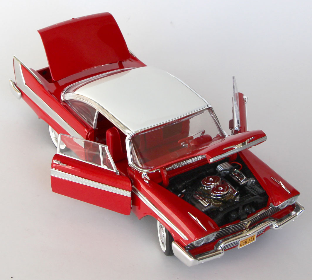 parties mobiles de Christine Plymouth Fury 1-18 Auto World