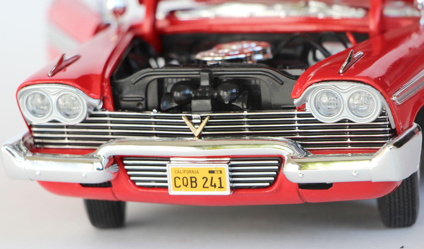 Calandre Christine Plymouth Fury 1-18 Auto World