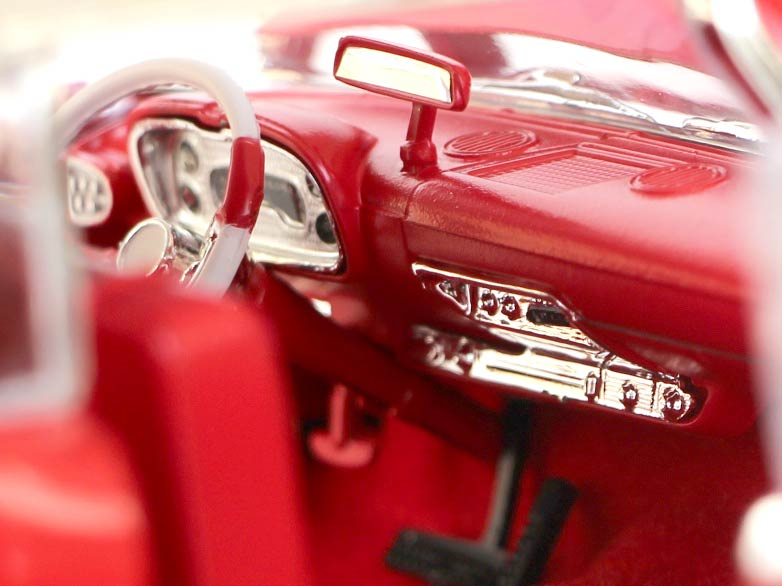 Tableau de bord - Christine Plymouth Fury 1-18 Auto World
