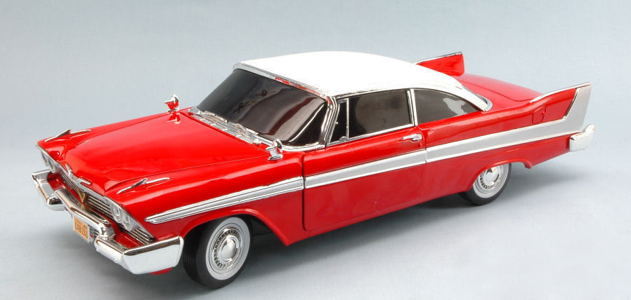 vitre noires - Christine Dark - Plymouth Fury 1-18 Auto World