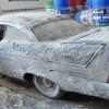 Christine Plymouth Fury 1/18 custom burn