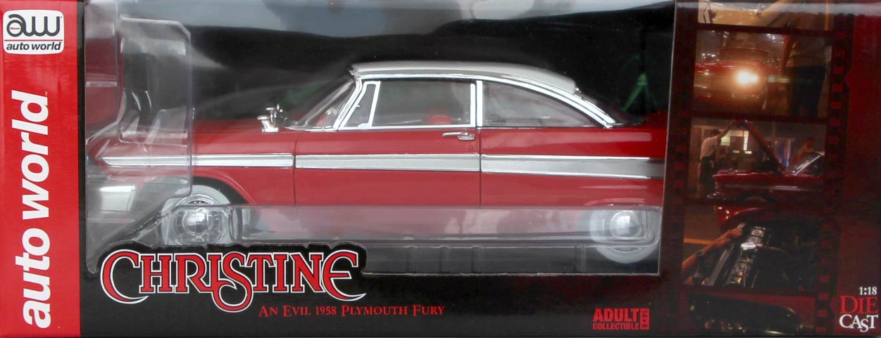 Packaging Christine Plymouth Fury 1-18 Auto World