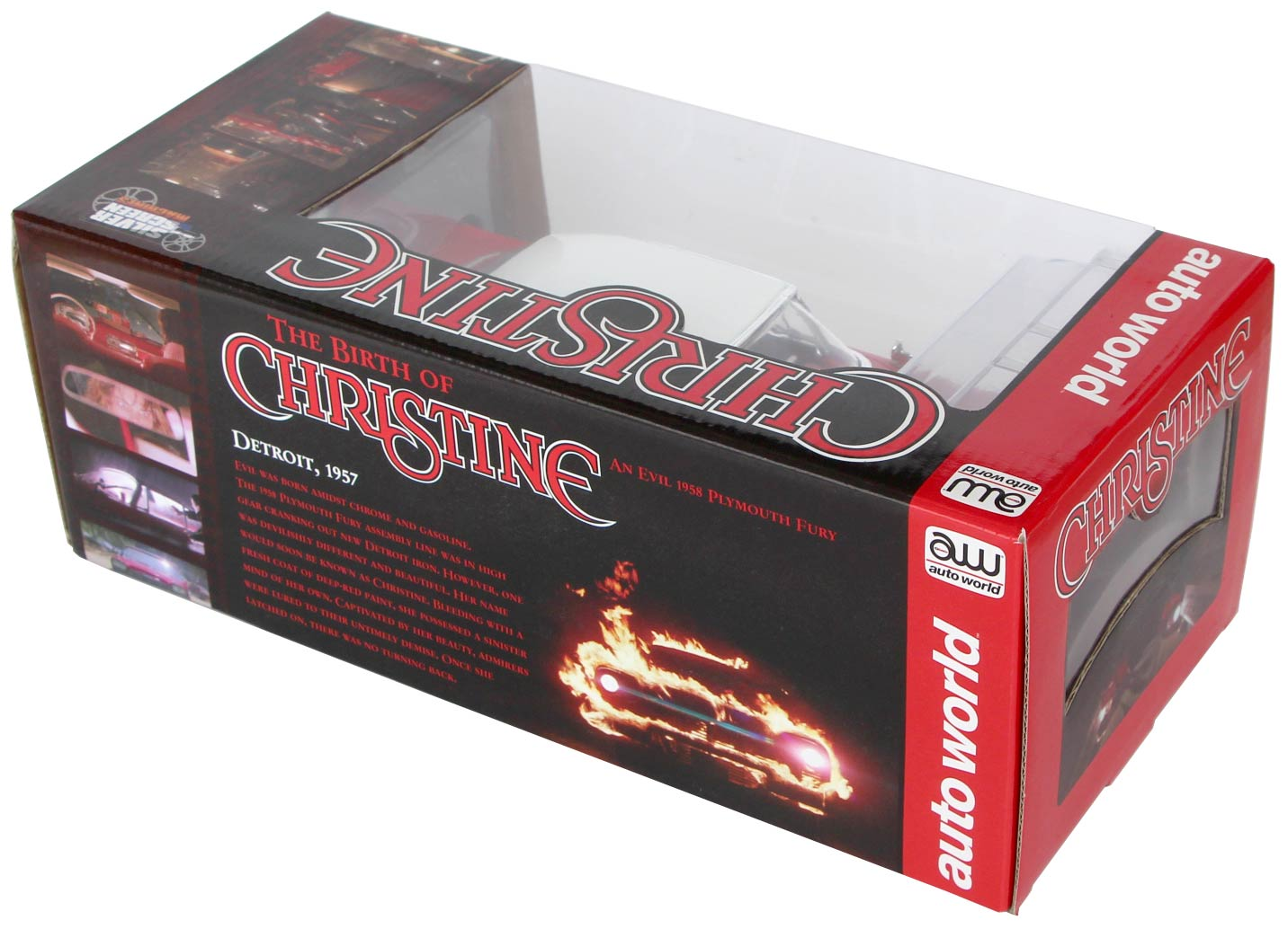 dos Boite packaging Christine Plymouth Fury 1-18 Auto World