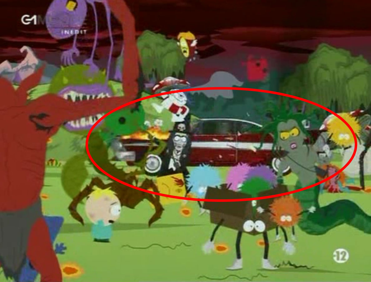 Christine dans South Park