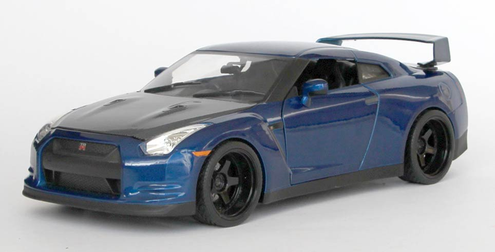fast furious 7 nissan gt r r35 ech 1 18 jada toys. Black Bedroom Furniture Sets. Home Design Ideas