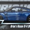 Packaging GT-R R35 Brian - Fast and Furious 7