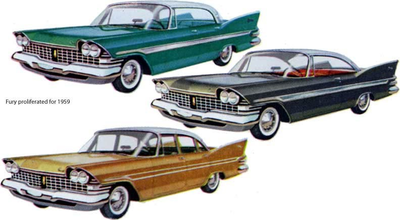 Plymouth Fury 1959