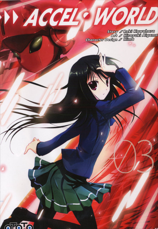 Couverture du manga Accel World Tome 3