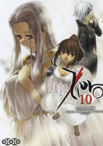 Couverture du tome 10 du manga Fate / Zero