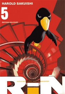 Couverture du tome 5 du manga Rin