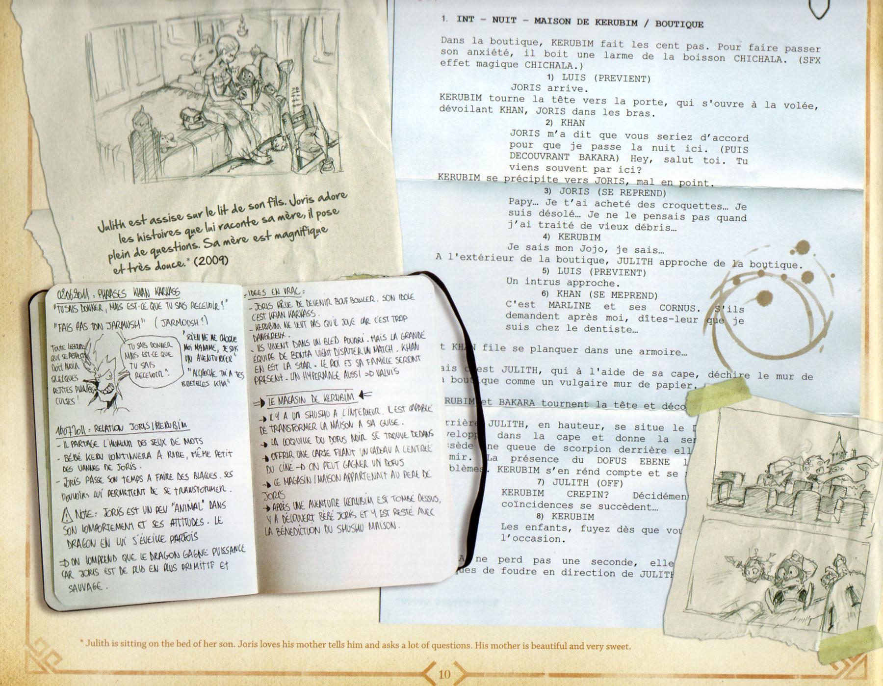 the art of dofus livre 1 julith ankama page 10