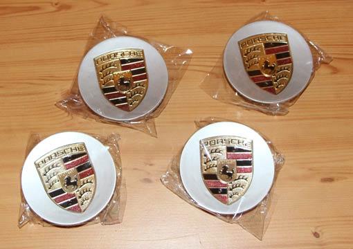 Logo couleur Porsche jantes