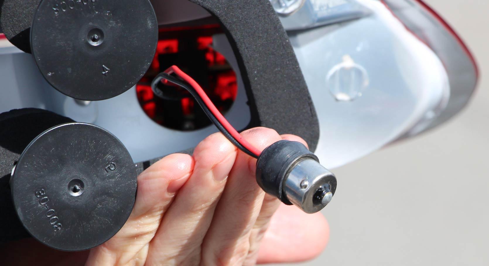 attache des Phares Boxster 986 LED cristal