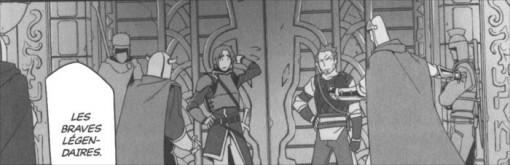 Les braves Légendaires et Kibaou avant le combat face au boss du niveau 2