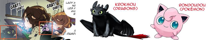 Rondoudou et Krokmou - Les légendaires