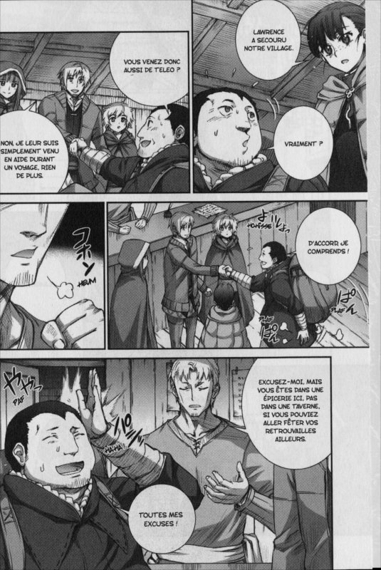 Page 2 du manga Spice & Wolf Tome 12