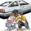 Takumi et Itksuki Initial D