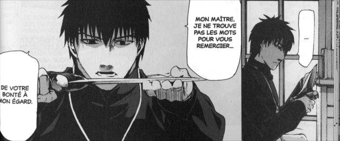 Tohsaka donne à son élève une dague magique sans savoir ce que sera sa première utilisation...