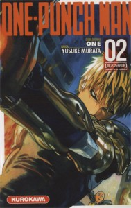 Couverture du manga One-Punch Man Tome 2