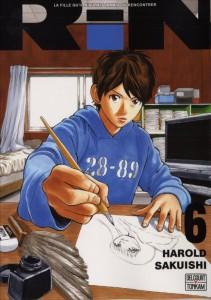 Couverture du tome 6 du manga Rin