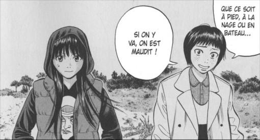 Rin et une amie salue Norito