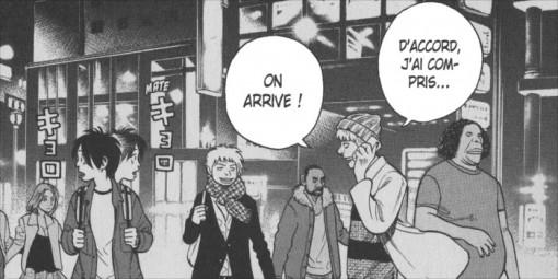 Norito profite de Tokyo avec d'autres mangaka