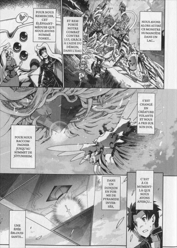 Page 4 du manga Sword Art Online : Calibur