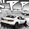 Initial D - Toyota GT86 vuie arrière