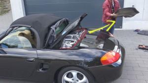 comment accéder au moteur d'une Boxster 986