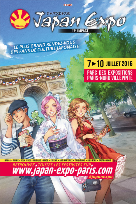 Affiche Japan Expo 2016