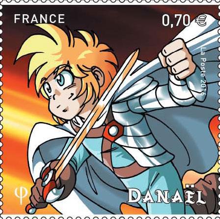 Timbres Les Légendaires - Danaël
