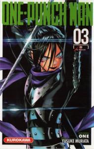 Quatrième de couverture du tome 3 du mange One Punch Man