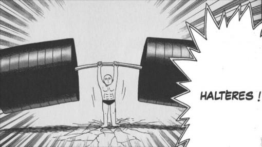 Saitama réussit les examens physiques sans problème