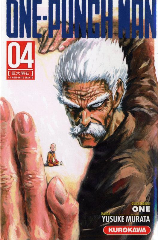 Couverture du tome 4 du manga One-Punch man