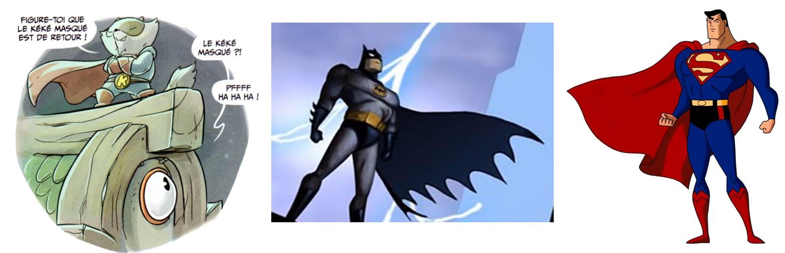 Kerubim fait un mix de Batman et superman
