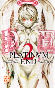 Couverture du manga Platinum End Volume 2