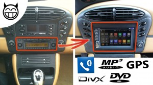 Boxster autoradio Android MP3 GPS