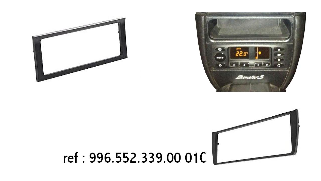 encadrement de commadnes de climatisation Boxster 986