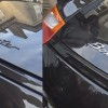 Logo Boxster comparaison avant après