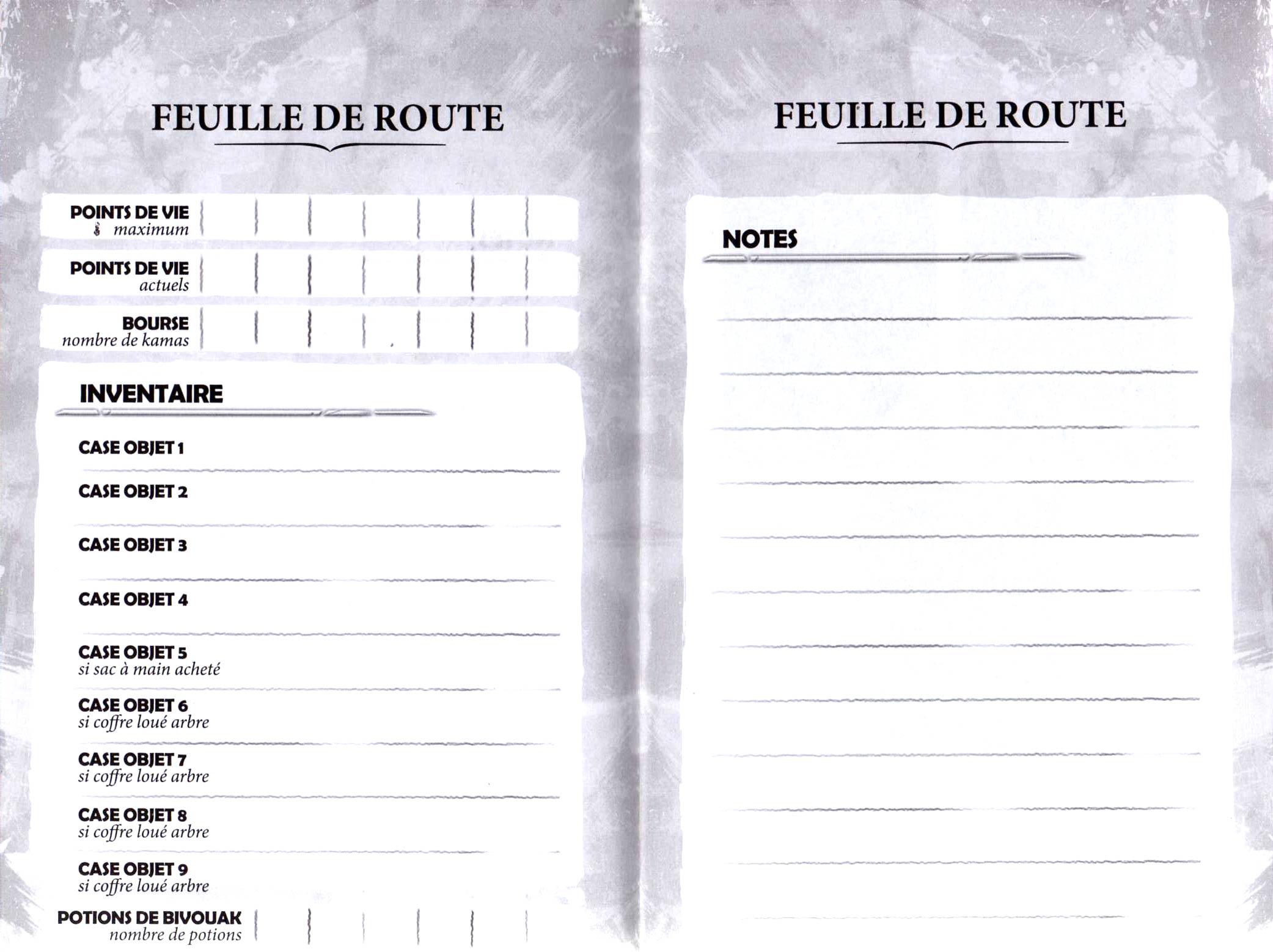 Feulle de route roman Dofus tome 4